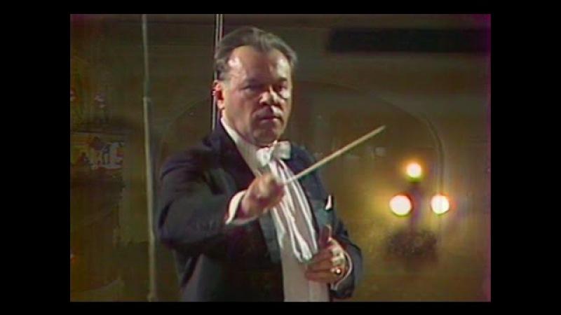 Evgeny Svetlanov conducts Svetlanov - video 1978