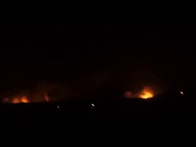 Детонирует крупнейший склад боеприпасов в Украине Detonates the largest ammunition depot in Ukraine