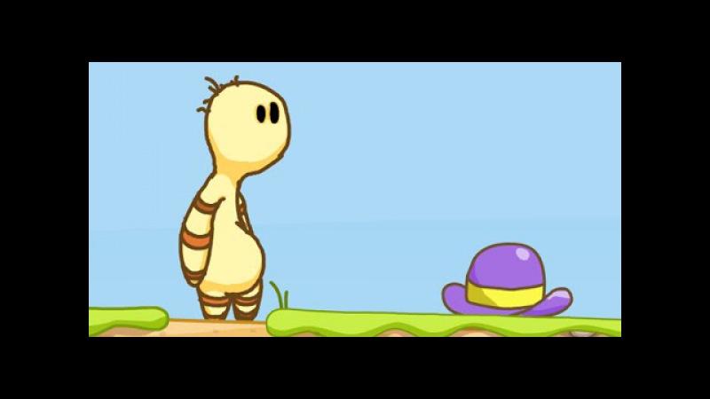 Черепаха в погоне за ДИКОЙ ШЛЯПОЙ – Мультик ИГРА для детей