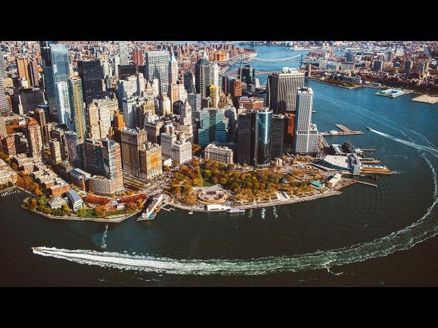 NEW YORK! На вертолете над Манхэттеном!