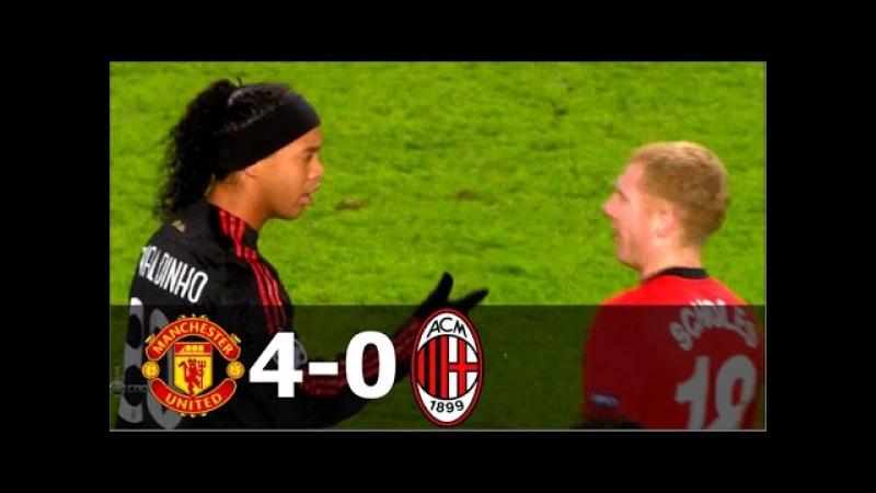 Manchester United vs AC Milan 4-0 - UCL 2009/2010 (2nd Leg) - Full Highlights HD