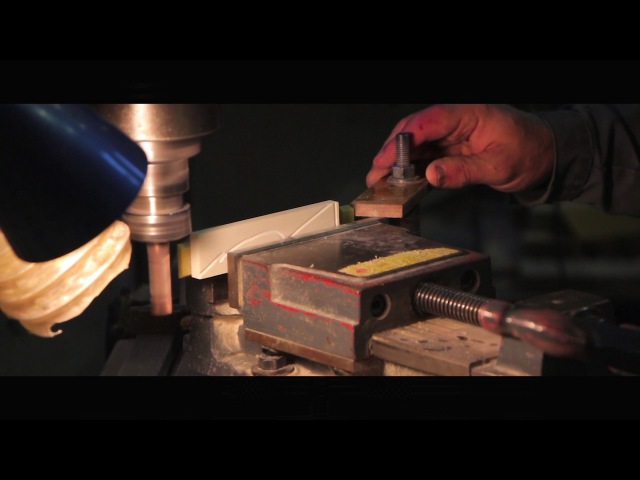 Фрезерование пазовых клиньев из стеклотекстолита