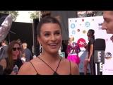 Lea Michele Talks to Scream Queens Costars Everyday