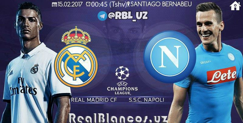 """Real Madrid"" - ""Napoli"": PREVYU"