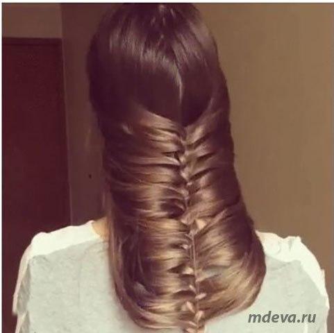Коса наоборот… а ведь просто? ))