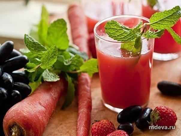 Натуральные соки для очищения организма
