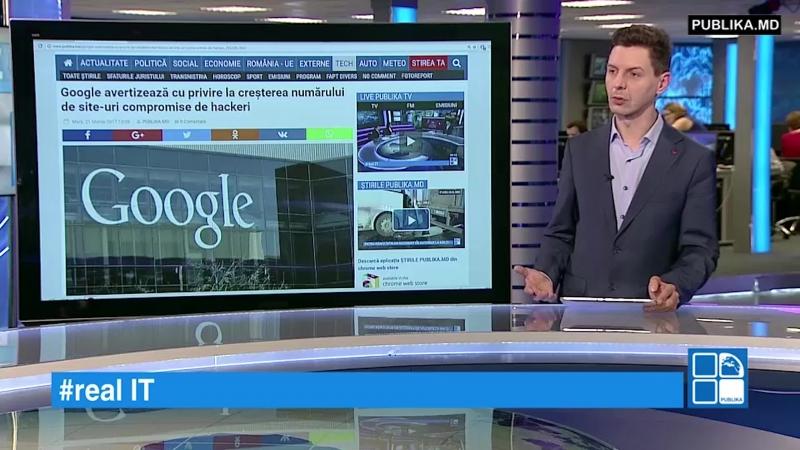 RealIT. Google avertizează cu privire la creșterea numărului de site-uri compromise de hackeri www.publika.md/2932091