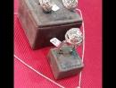 Шикарный сет из белого золота 750 пробы и чистейшие южноафриканские бриллианты