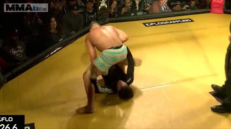 Атака под выход в бэкмаунт, Пауло Мияо vs. Юрайя Фабер . SUG 4