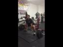 Эштон Роуска - тяга 279 кг х 10 повторов