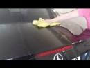 Mercedes-Benz SL- class - под защитой Lack Polish Blau от Koch Chemie.