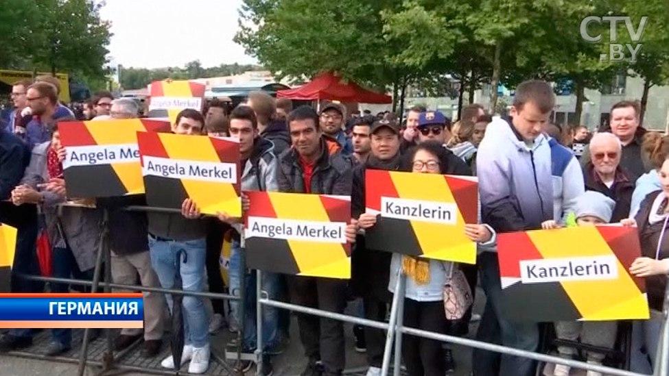 Камкин: накануне выборов вБундестаг интрига сохраняется