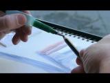 Урбанистический художник Jens Hübner показывает как пользоваться портативной водной кистью Faber-Castell