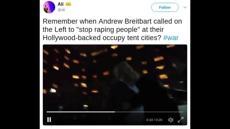 Breitbart Warned Us About Hollywood DNC Raping People » Freewka.com - Смотреть онлайн в хорощем качестве