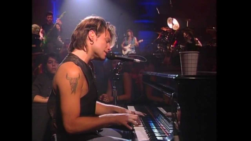 Bon Jovi Bed Of Roses Keep The Faith New York 1992