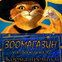 Кот в сапогах. Зоомагазин в Томске