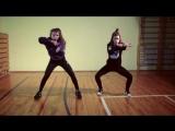 Танцы. Дети: Арина Вербицкая и Маша Шевелева