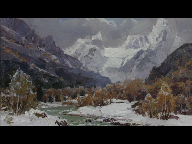 Alexander Babich winter Landscapes