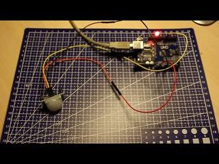 Датчик движения HC-SR501 и подключение его к плате Arduino UNO. Первый опыт.