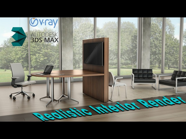 Realistic Interior Lighting in 3ds max - Vray