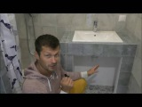 Интересный ремонт ванной комнаты Форс Монтаж