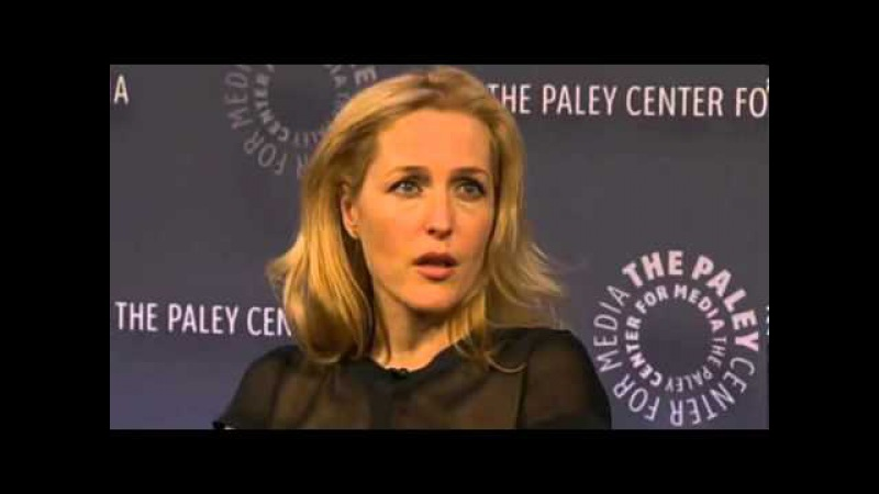 David Duchovny and Gillian Anderson - PaleyLIVE 2013