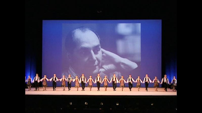 Юбилейный концерт Государственного академического ансамбля народного танца им...