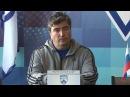 Пресс-конференция после матча Динамо - Олимпиец