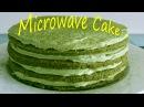 Cách làm bánh KEM TRÀ XANH bằng LÒ VI SÓNG hướng dẫn công thức làm bánh GA TÔ Kem trà xanh Nhật bản