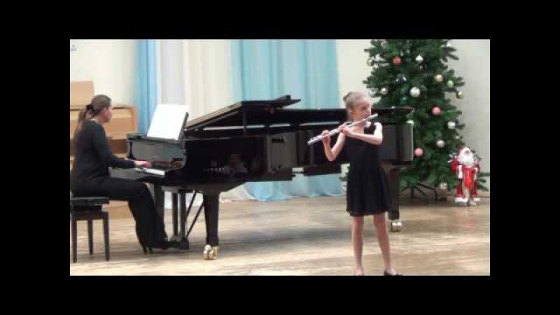А. Глазунов, Гавот из балета «Барышня-служанка»