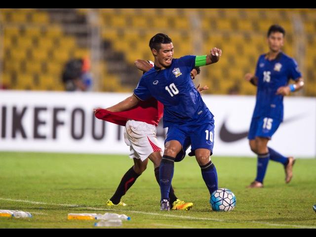 Чемпионат Азии среди юношеских команд (u-16) 2016. 3 тур. Группа D. Таиланд - Йемен