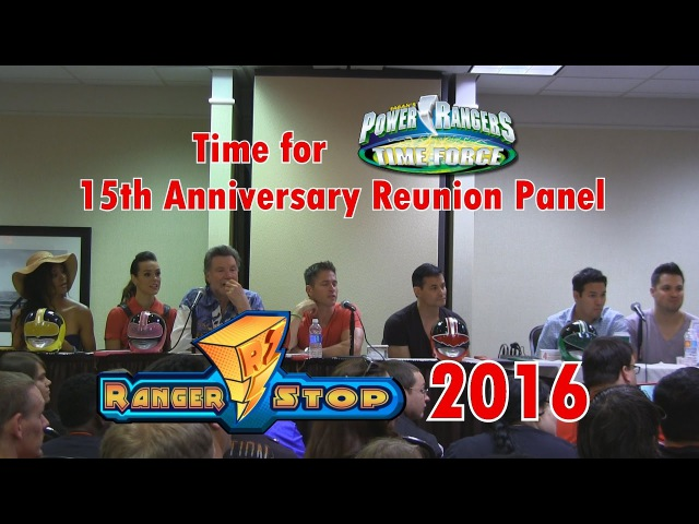 Power Rangers: Time For Time Force 15th Anniversary Reunion Panel - RangerStop 2016