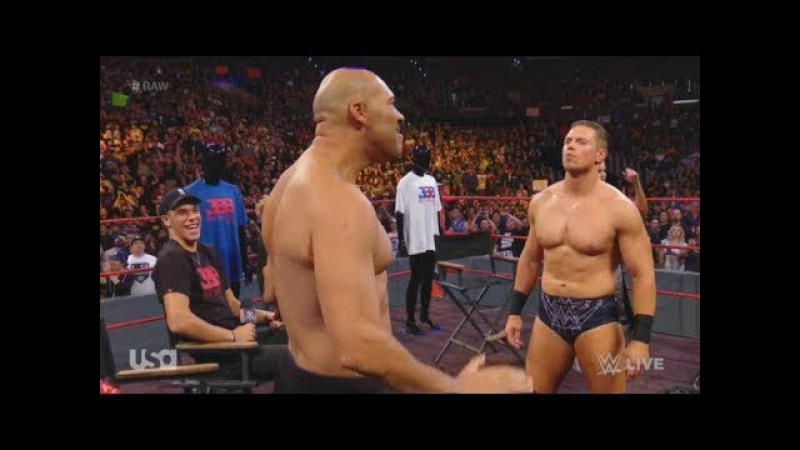 LaVar Ball Rips Shirt Off — Goes Off On The Miz As Sons Laugh During WWE Raw June 26 2017