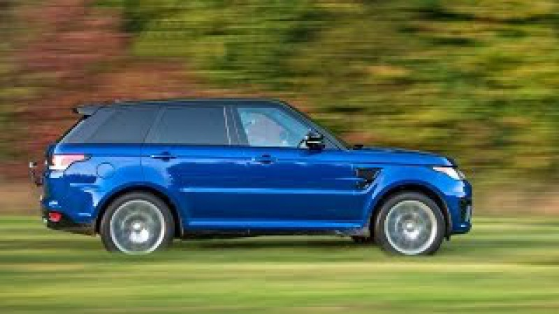 Range Rover Sport SVR 2017 All-Terrain Acceleration Tests