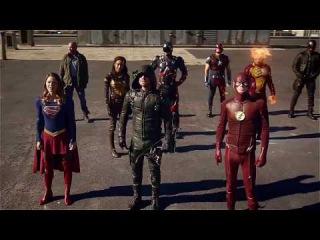 Лига Справедливости CW против Доминаторов (Мега кроссовер)