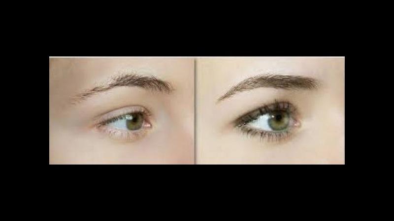 как правильно красить глаза и брови 2016