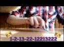 Pen Tapping Tutorial или как делать битбокс ручкой 7 Medium beat