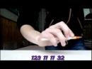 Pen Tapping tutorial или битбокс ручкой 4 Easy Beat