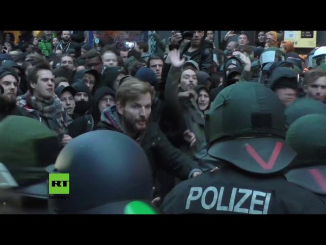 40 Festnahmen bei Protest zum 01 Mai in Berlin Aktivisten verurteilen Einsatzkonzept der Polizei