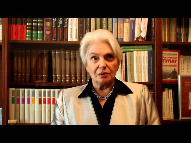 Интервью Н.Д. Солженицыной о С. Фуделе