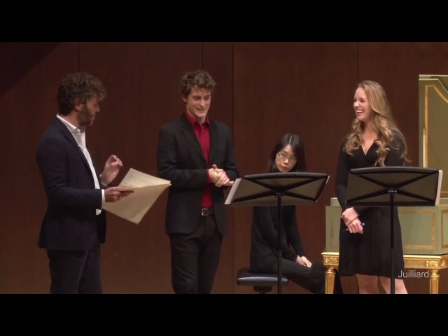 Jakub Józef Orliński, countertenor Angela Vallone, soprano | Pablo Heras-Casado Master Class