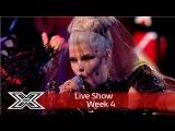 Saara Aalto goes Gaga with Bad Romance Live Shows Week 4 The X Factor UK 2016