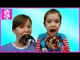 BAD KID SPIDER Attacks Girl. BAD BABY против ПАУКА. Вредные детки атакуют паука. Bad Baby spider