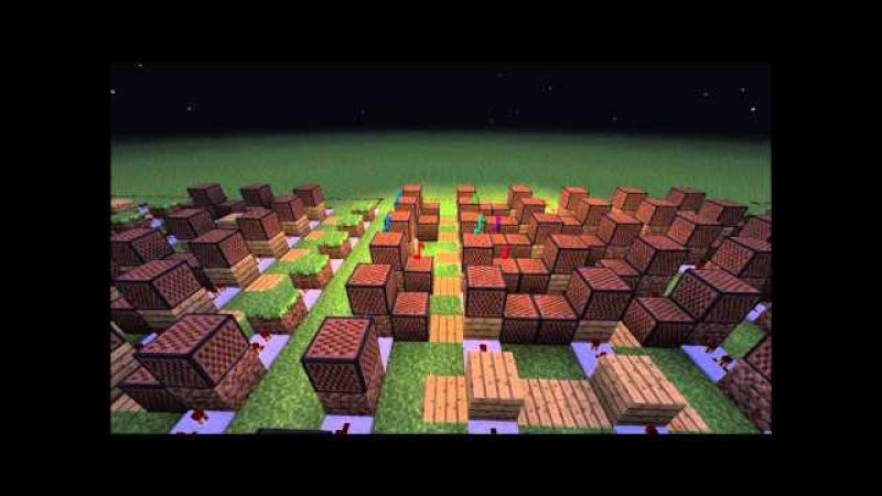 'The Elder Scrolls V Skyrim Main Theme' Minecraft Noteblock Song