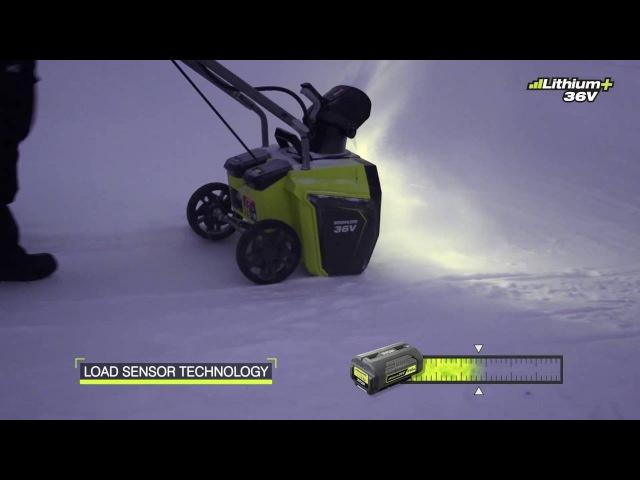 Ryobi 36V Brushless Snow Thrower RST36B51