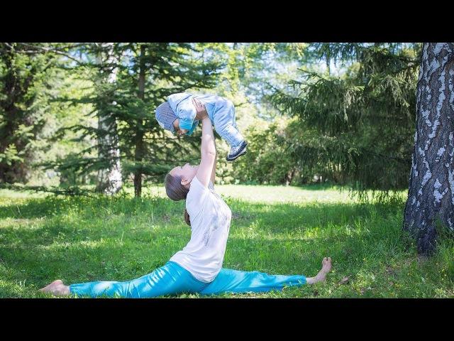 Комплекс по йогатерапии восстановление после родов