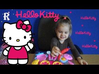 Hello Kitty Kitchen set Хелло Китти Для детей