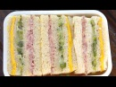 Three color sandwich Samsaek sandwich 삼색샌드위치