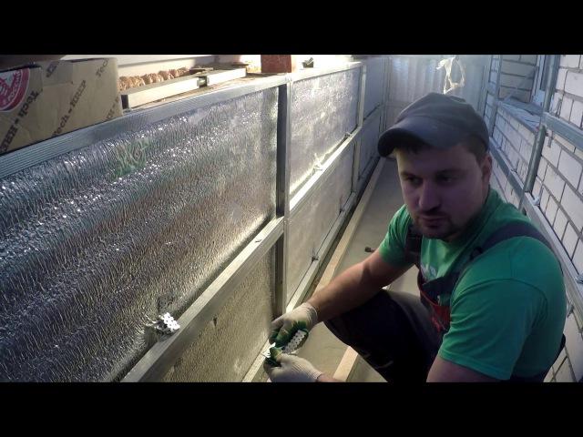 Азбука Ремонта - Ремонт лоджии (обшивка стен пластиковыми панелями)