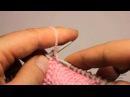 Особенности вязания изнаночных петель при вязании жгутов и кос